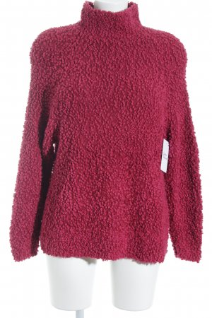Juicy Couture Rollkragenpullover magenta Casual-Look