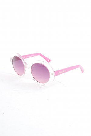 Juicy Couture runde Sonnenbrille mehrfarbig Retro-Look