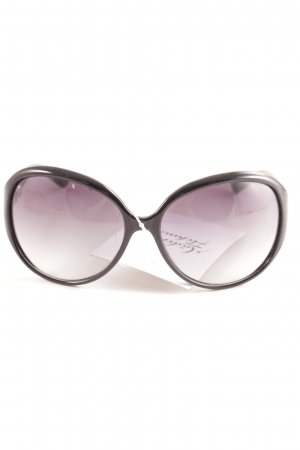 Juicy Couture runde Sonnenbrille schwarz Casual-Look