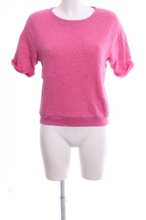 Juicy Couture Rundhalspullover pink meliert Casual-Look