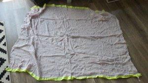 Juicy Couture Schal Tuch Halstuch Fransen Scarf Shawl Pastell Neon