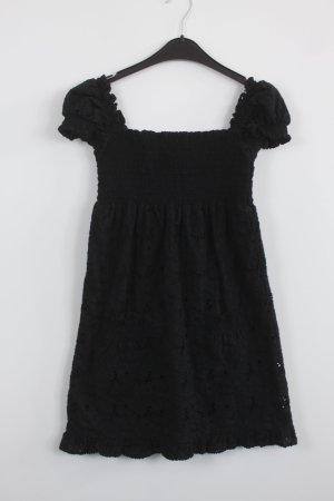 Juicy Couture schulterfreies Kleid Gr. XS schwarz