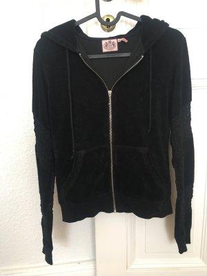 Juicy Couture Sweatjack zwart Katoen