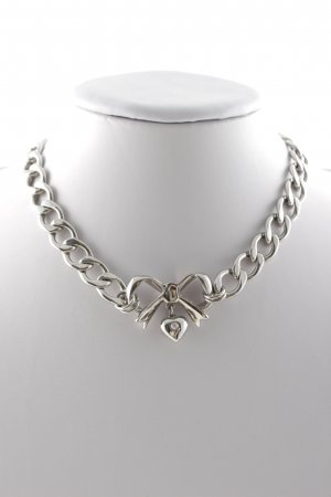 Juicy Couture Silver Chain silver-colored casual look
