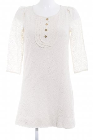 Juicy Couture Spitzenkleid creme Elegant
