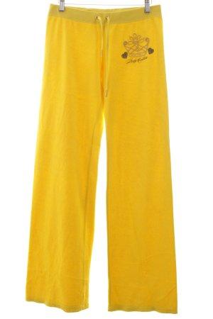 Juicy Couture Sporthose blassgelb sportlicher Stil