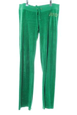 Juicy Couture Sportbroek groen pluizig