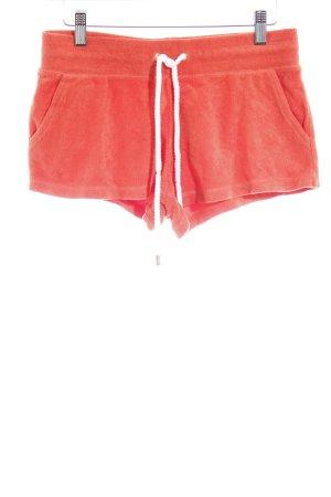 Juicy Couture Sportshorts dunkelorange sportlicher Stil