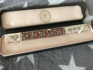 Juicy Couture Stoffarmband neu mit Karton