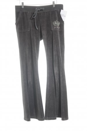 Juicy Couture Stoffhose taupe Kuschel-Optik
