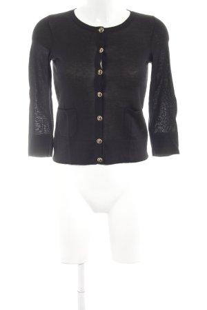 Juicy Couture Strickjacke schwarz Business-Look