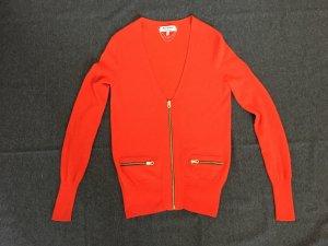 Juicy Couture Strickjacke Wolle/Cashmere Orange Winter und Frühjahr