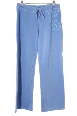 Juicy Couture Pantalon de jogging bleuet-turquoise imprimé positionné