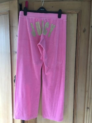 Juicy Couture Sweathose, Kuschelhose, Gr L, Pink