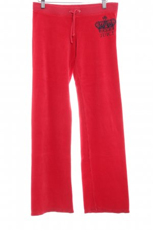 Juicy Couture Sweathose rot Casual-Look