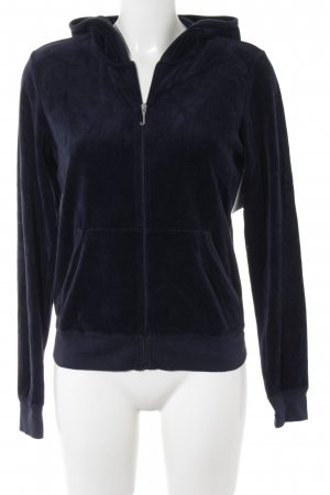 Juicy Couture Sweatjacke dunkelblau sportlicher Stil