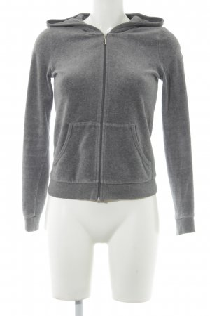 Juicy Couture Sweatjacke grau Casual-Look