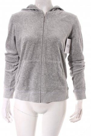 Juicy Couture Sweatjacke hellgrau sportlicher Stil