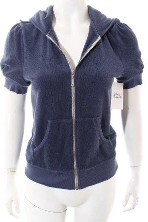 Juicy Couture Sweatjacke kornblumenblau sportlicher Stil