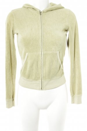 Juicy Couture Sweatjacke limettengelb Casual-Look