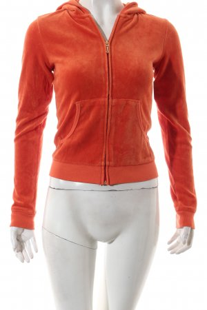 Juicy Couture Sweatjacke neonorange sportlicher Stil