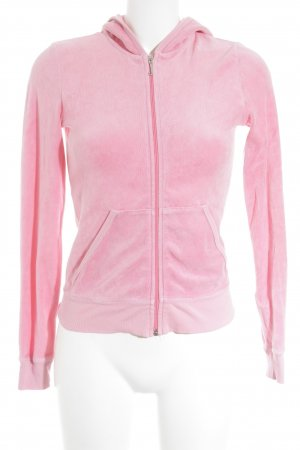 Juicy Couture Sweatjacke pink Street-Fashion-Look