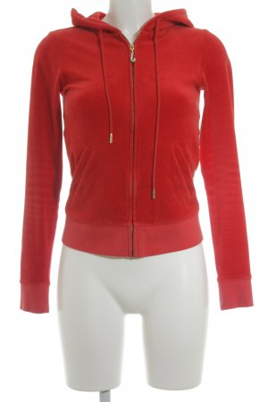 Juicy Couture Sweatjacke rot Casual-Look