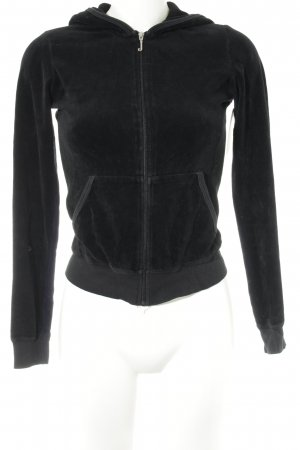 Juicy Couture Sweatjacke schwarz Casual-Look