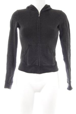 Juicy Couture Sweatjacke schwarz sportlicher Stil