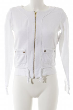 Juicy Couture Sweatjacke weiß Casual-Look