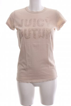Juicy Couture T-Shirt nude Motivdruck Casual-Look