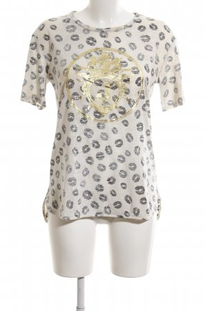 Juicy Couture T-Shirt Allover-Druck Casual-Look