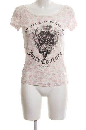 Juicy Couture Camiseta letras impresas look casual