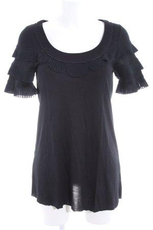 Juicy Couture T-Shirt schwarz Casual-Look