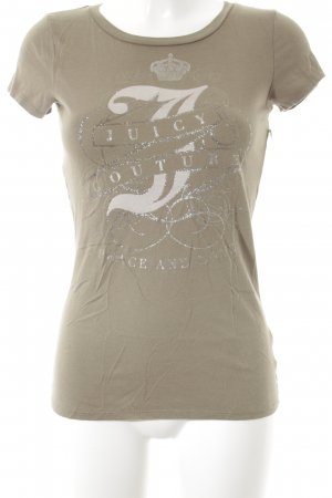 Juicy Couture T-Shirt grüngrau Casual-Look