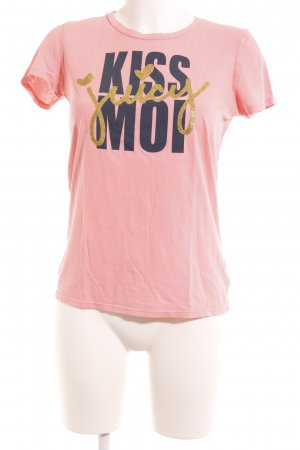 Juicy Couture T-Shirt platzierter Druck Casual-Look