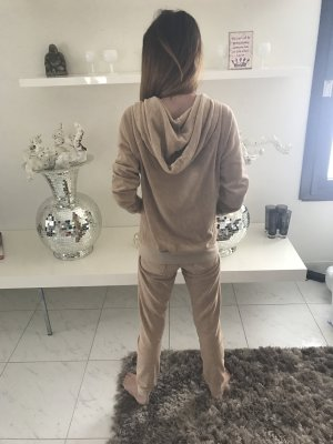 Juicy Couture Tracksuit Jacke Gr.S Hose Gr. Xs Farbe nude