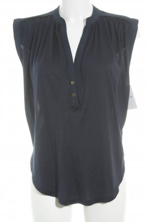 Juicy Couture V-hals shirt donkerblauw casual uitstraling