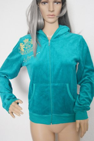 Juicy Couture Velour Sweatjacke Türkis gr.M