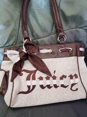 Juicy Couture Winterhandtasche braun/grau