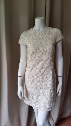 Juicy Couture Robe en dentelle beige clair