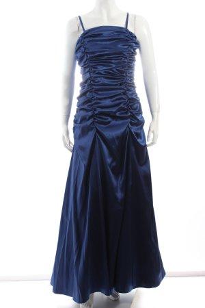 Juju & Christine Abendkleid blau Eleganz-Look