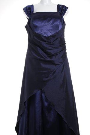 Juju & Christine Abendkleid dunkelblau-blau Elegant