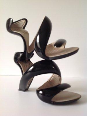 Julian Hakes High Heel Sandal black synthetic material