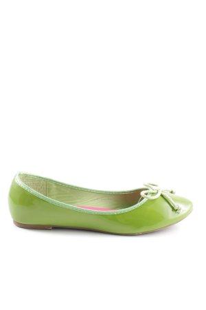 Juliet Lackballerinas grün Casual-Look