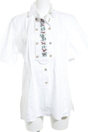 Julius Lang Hemd-Bluse mehrfarbig Vintage-Look