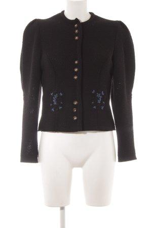 Julius Lang Traditional Jacket black-cornflower blue classic style