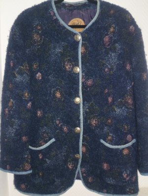 Folkloristische jas blauw