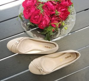 Jumex Ballerinas, beige, Gr.37/38