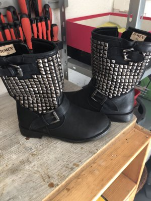Jumex Chelsea Boot noir-argenté